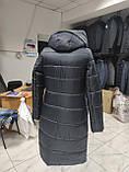 Стильна подовжена зимова куртка Solo SV-21, фото 4