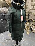 Стильна подовжена зимова куртка Solo SV-21, фото 8