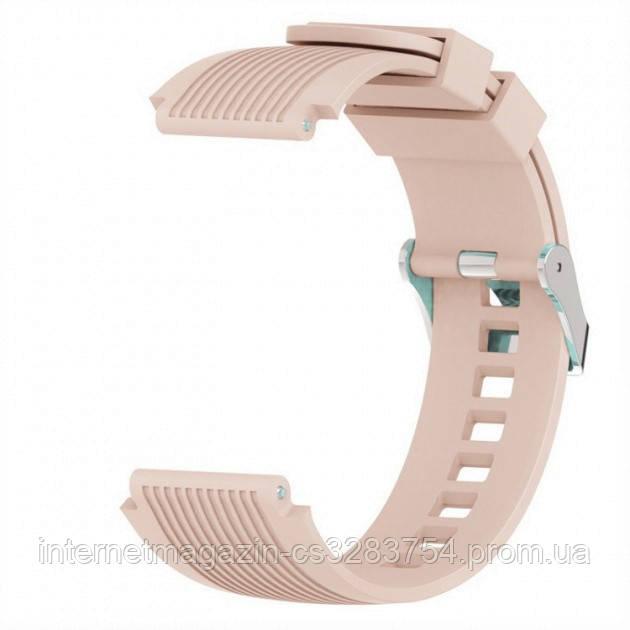 Ремешок BeWatch для часов силиконовый ECO2 универсальный 22 мм Крем (1022122)