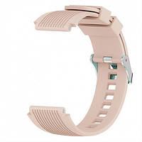 Ремешок BeWatch для часов силиконовый ECO2 универсальный 22 мм Крем (1022122), фото 1