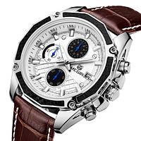 Megir Мужские классические кварцевые часы Megir Chronometr 1045, фото 1