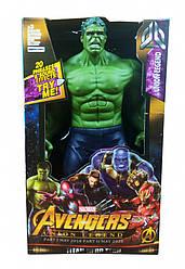 """Фигурка супергероя """"Мстители"""" DY-H5826-33 29 см., подв. руки и ноги, звук, свет (Hulk)"""