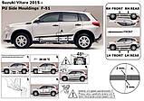 Молдинги на двери Suzuki Vitara 2015+, фото 9
