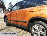 Молдинги на двери Suzuki Vitara 2015+, фото 3