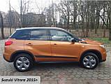 Молдинги на двери Suzuki Vitara 2015+, фото 5