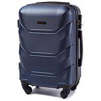 Дорожный чемодан wings 147 синий размер S (ручная кладь), фото 1