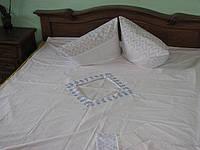 Пододеяльник двуспальный с кружевом