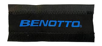 Захист пера/ланцюга Benotto неопренова, чорна