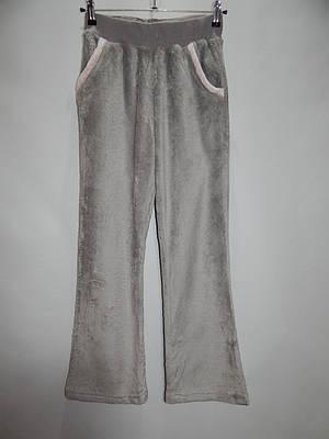 Женские меховые домашние теплые брюки флис  р. 48-50  013GDB