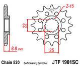 Звезда стальная передняя JT Sprockets JT JTF1901.15SC, фото 2