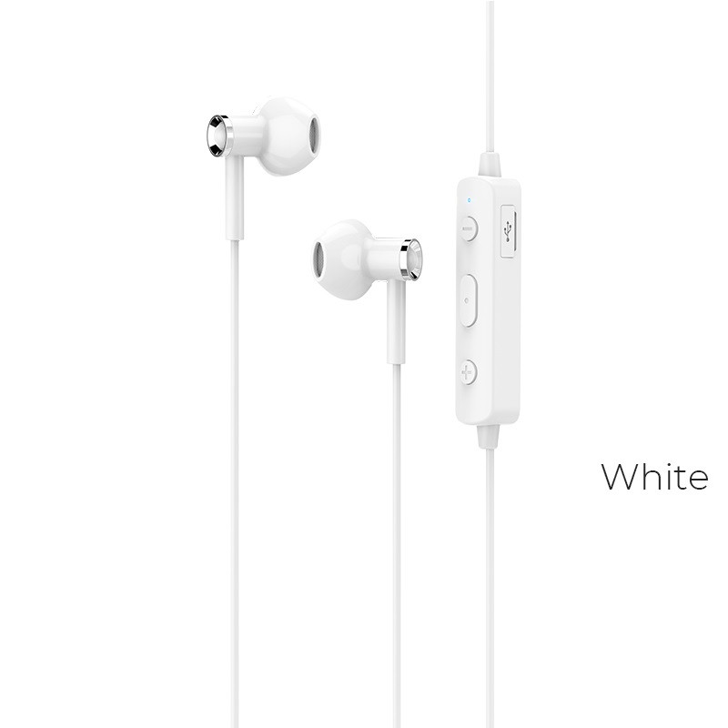 Навушники Bluetooth  Hoco ES21 Wonderful sports White