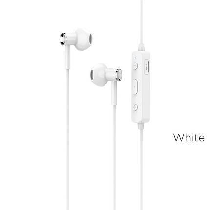 Навушники Bluetooth  Hoco ES21 Wonderful sports White, фото 2