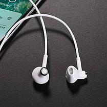 Навушники Bluetooth  Hoco ES21 Wonderful sports White, фото 3