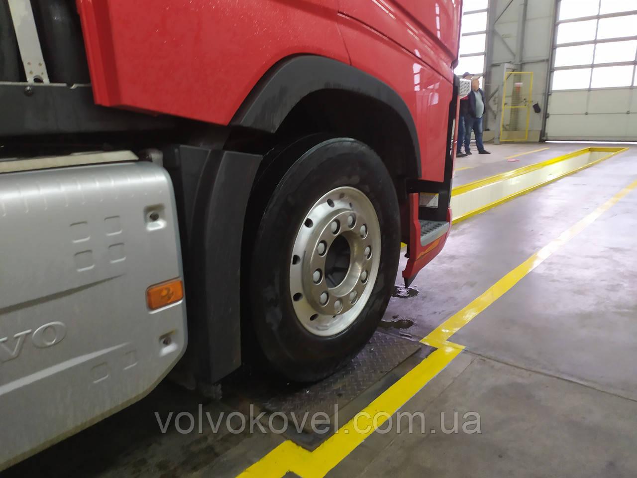 Перевірка підвісок автомобілів та причепів на детекторі люфтів (трясучка)