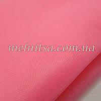 Фатин  розовый, ширина 1,40 м