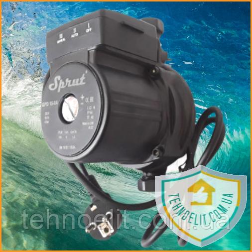 """Насос для повышения давления воды в системе ТМ """"Sprut"""" GPD15-9А"""