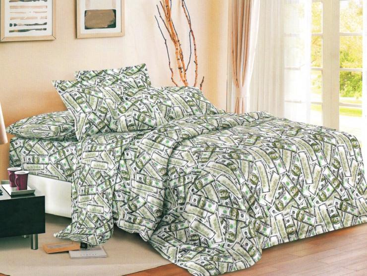 Евро комплект Бязь постельное бельё 200х215см постельньный набор в евро размере