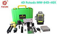 Лазерный уровень/лазерный нивелир БИРЮЗОВЫЙ ЛУЧ 4D Fukuda MW-94D-4GХ