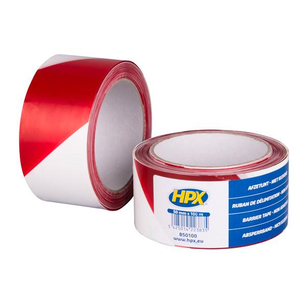 HPX Barrier Tape - 50мм x 100м  - высококачественная сигнальная лента для ограждения территорий