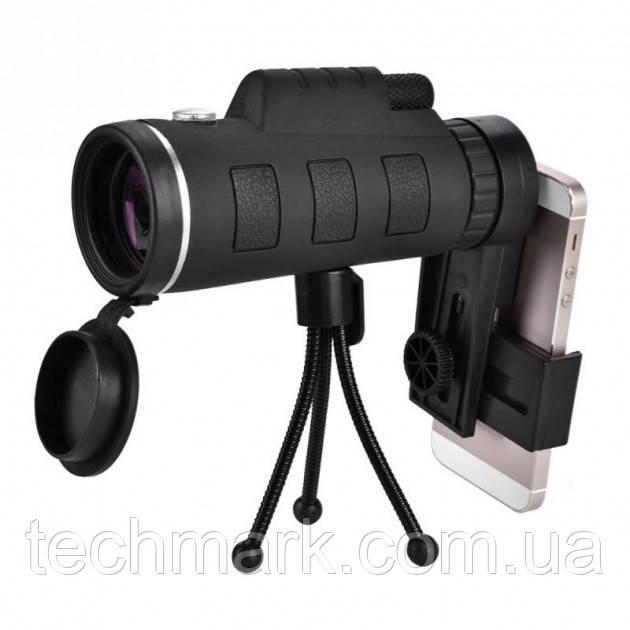 Монокуляр Panda Vision 40x60 с треногой и клипсой для смартфона