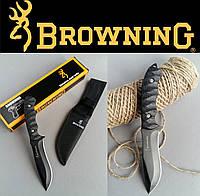 Тактический нескладной нож Browning. Ножи туристические и охотничьи с фиксированным клинком, фото 1