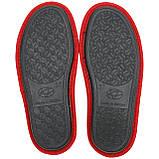 Тапочки женские меховые красные на мягкой подошве для дома стильные утепленные р.37-40, фото 3