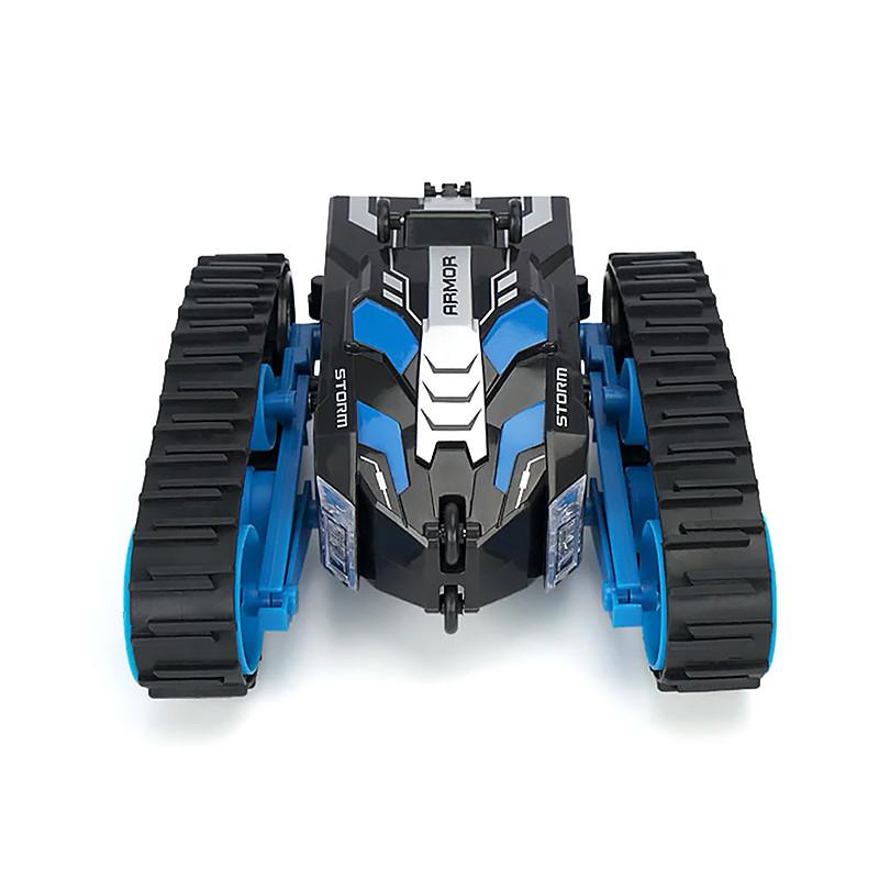 Детская трюковая машинка YDJIA D851 Blue вездеход-перевертыш с дистанционным управлением