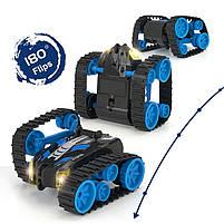 Детская трюковая машинка YDJIA D851 Blue вездеход-перевертыш с дистанционным управлением, фото 5
