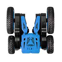 Детская трюковая машинка YDJIA D850 Blue вездеход-перевертыш с дистанционным управлением, фото 2