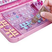 """Игровой набор для девочек в чемодане Lesko """"Студия маникюра"""" 55002 Pink детская косметика, фото 3"""