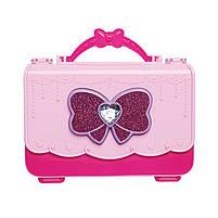 """Игровой набор для девочек в чемодане Lesko """"Студия маникюра"""" 55002 Pink детская косметика, фото 2"""
