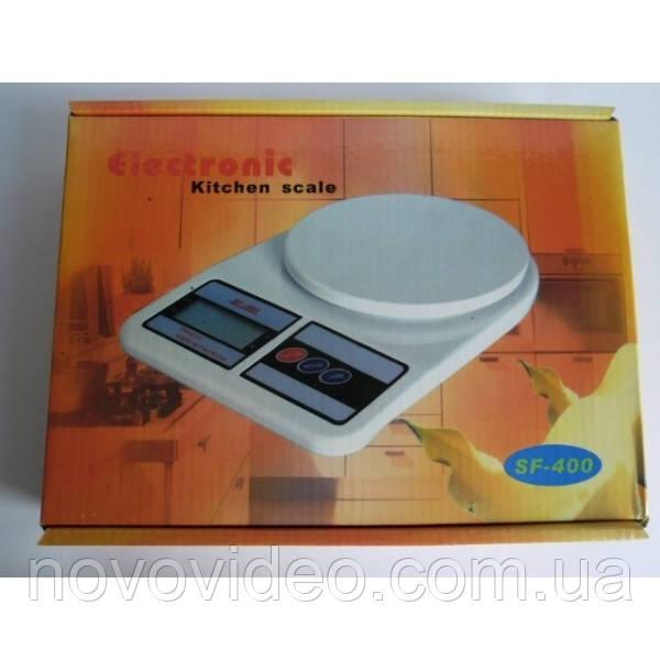 Весы кухонные цифровые SF-400 на 10 кг
