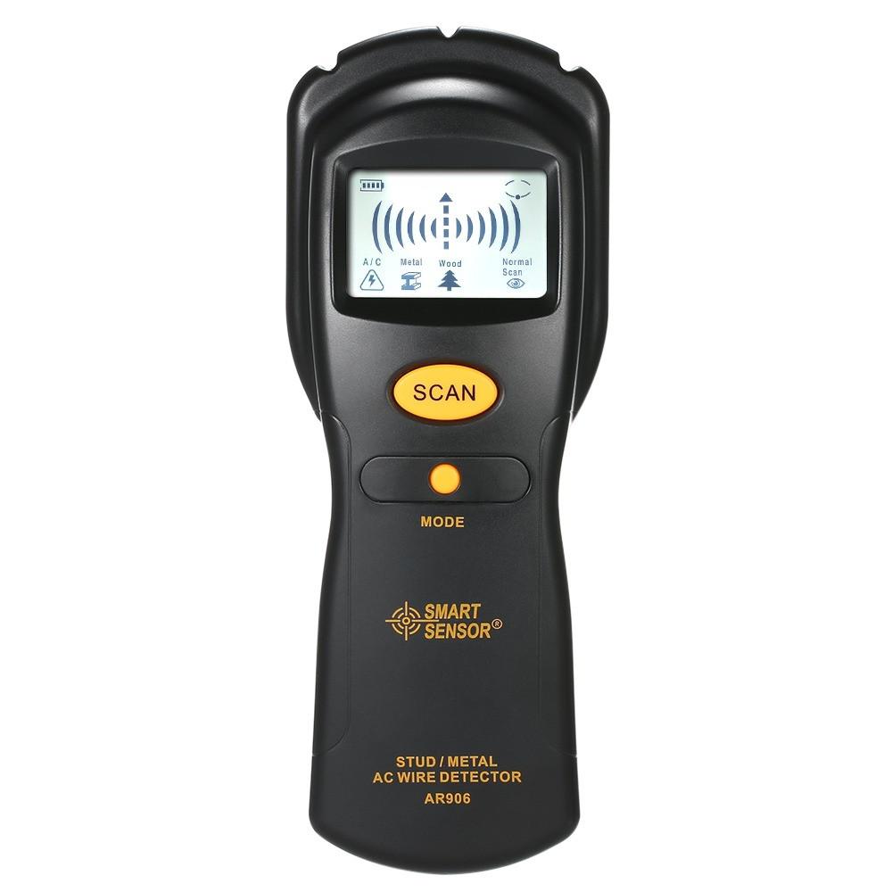 Прибор для обнаружения скрытой проводки в стене, Smart Sensor AR906 (детектор, индикатор, искатель)  (ST)