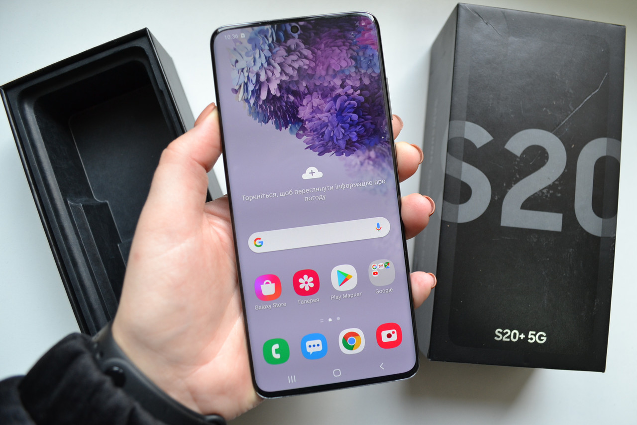 Samsung Galaxy S20+ Plus 5G 12/128Gb SM-G986U Cosmic Gray Оригинал!