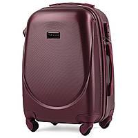 Дорожный чемодан wings 310 бордовый размер S (ручная кладь), фото 1