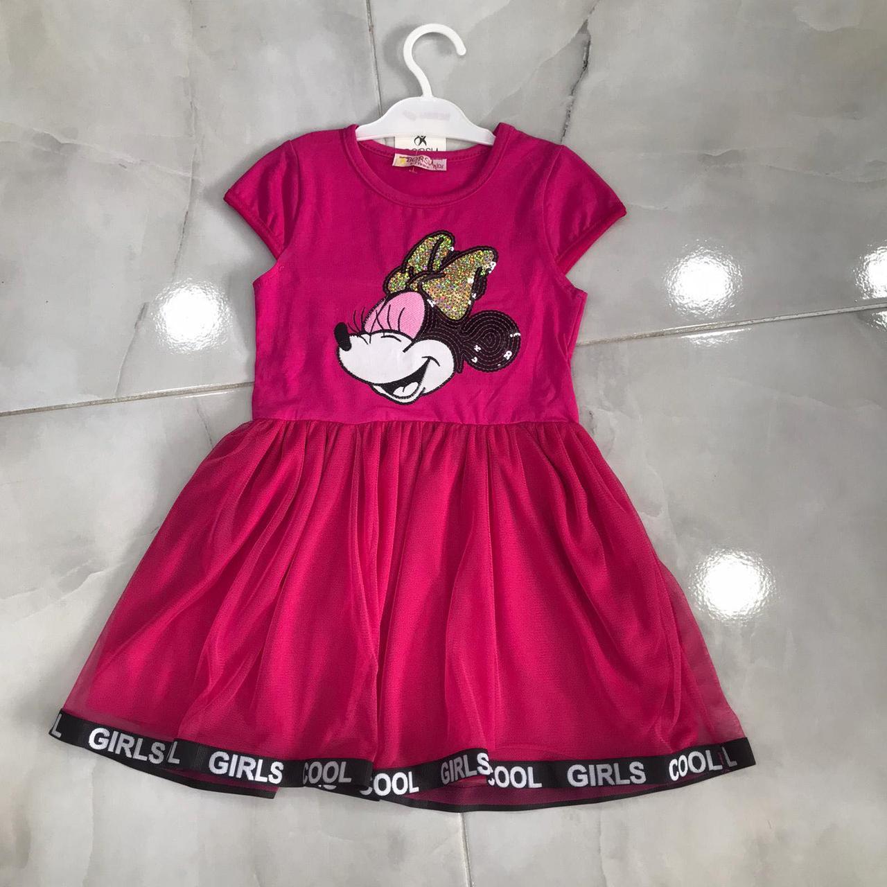 Детское платье 7-11 лет на девочек Турция оптом