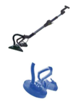 Телескопическая шлифовальная машина для стен и потолков со сменными насадками TITAN PTSM85230D