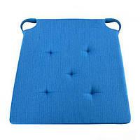 """Подушка на стул STENSON """"Классик"""" 40 х 40 см (J01425) (Белый)"""