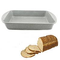 Противень для выпечки хлеба A-PLUS 28 х 38 х 7 см (1285) Гранитное покрытие