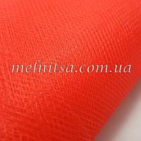 Фатин, цвет красный, ширина 2,80 м