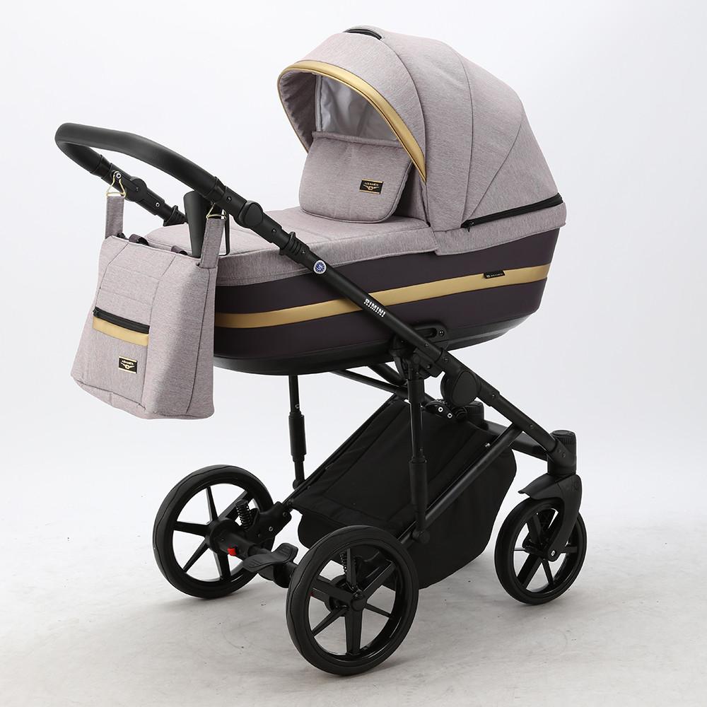 Детская универсальная коляска 2 в 1 Adamex Rimini Lux RI-14