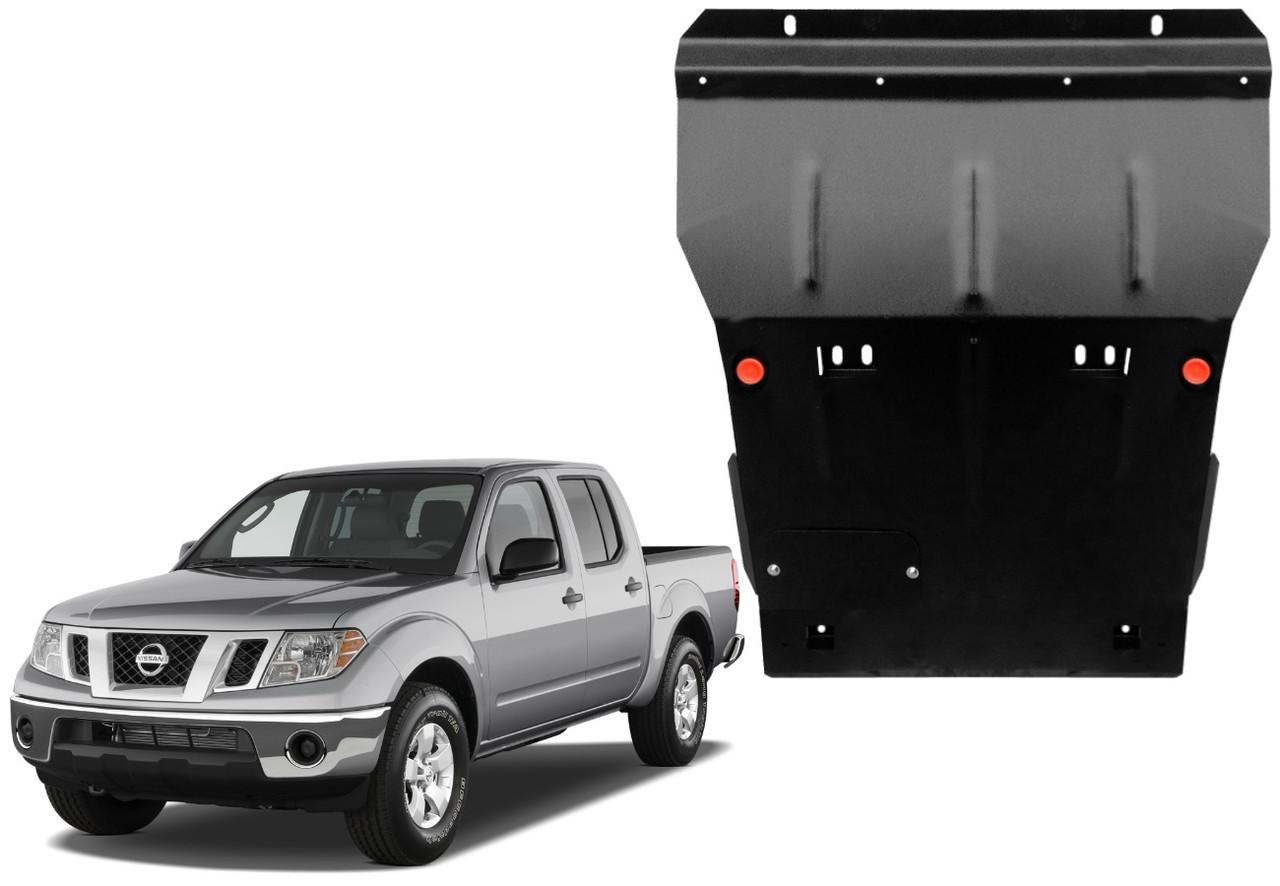 Защита двигателя Nissan Navara D40 2005-2015