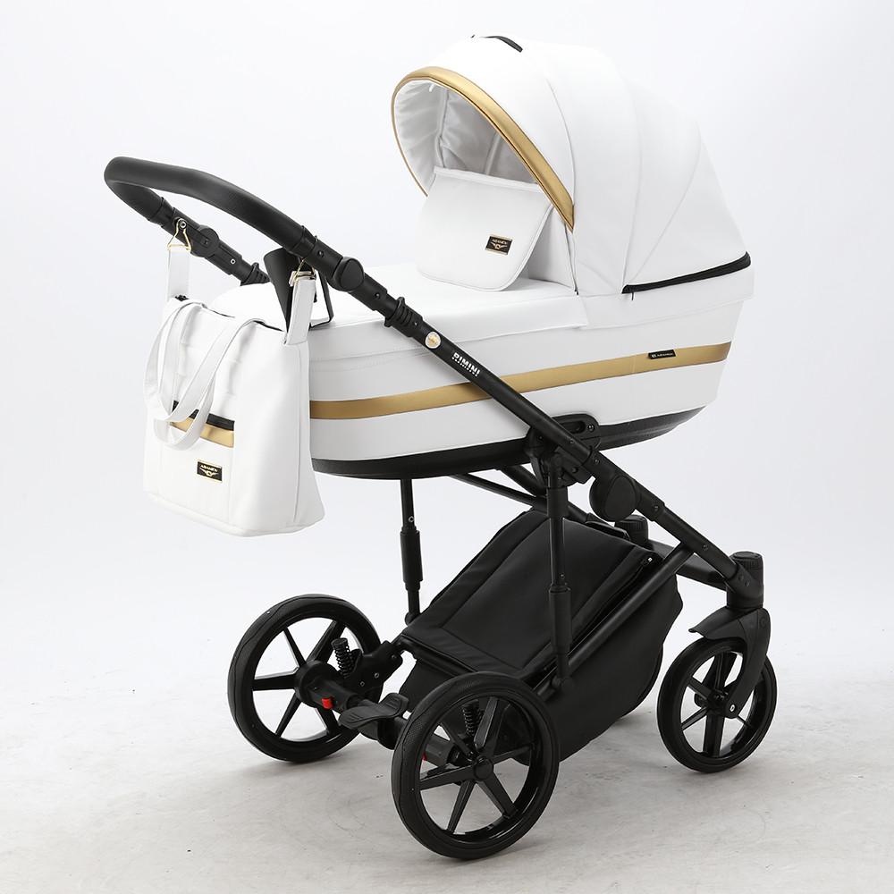 Детская универсальная коляска 2 в 1 Adamex Rimini Delux RI-200