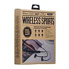 Беспроводные Bluetooth наушники Proda Sports PD-BN100 вакуумные спортивные, стерео гарнитура, белые / черные, фото 7