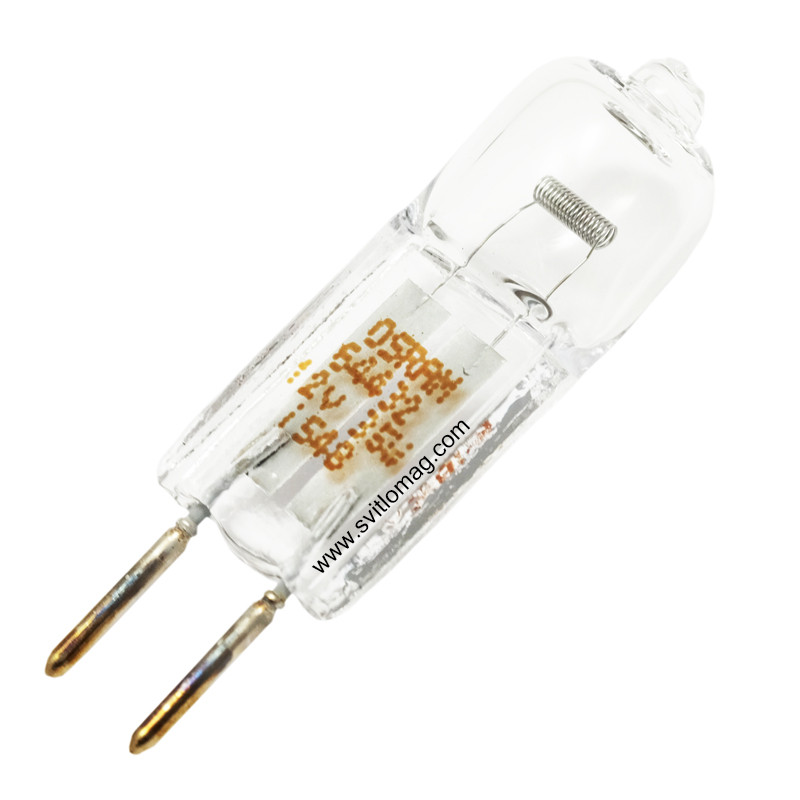 Лампа кварцевая галогенная малогабаритная 12v - 35w OSRAM 64432 GY6.35
