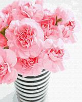 Картина рисование по номерам Brushme Нежность в стаканчике     BK-GX31556 набор для росписи, краски, кисти,