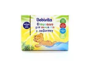 Bebivita Фитованна для младенцев из любистка.