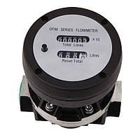 Механический Счетчик OGM-A-25 расходомер топлива, фото 1