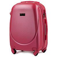 Женский чемодан wings 310 розовый размер S(ручная кладь), фото 1