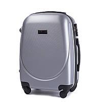 Дорожный чемодан wings 310 серебристый размер S(ручная кладь), фото 1